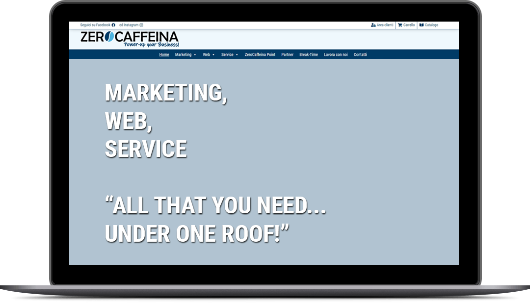 marketing, web, service... all that you need... under one roof!""